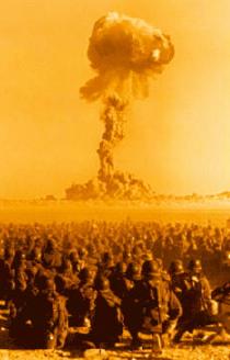 Atomic-Bomb-Exposure-To-Humans-Nevada-1951