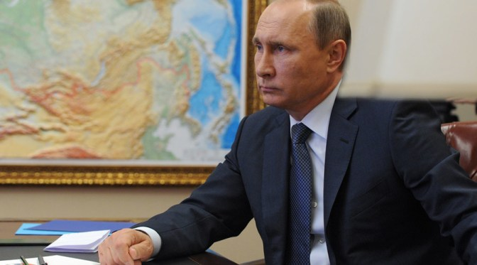 2742089 11/20/2015 November 20, 2015. Russian President Vladimir Putin holds a video conference with Russian military personnel engaged in the Syria operation. Michael Klimentyev/Sputnik