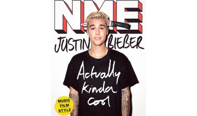 Justin Bieber is still forced to be appear in all kinds of abusive situations in all of his photoshoots.