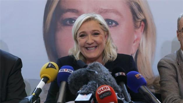 Marine Le Pen, French National Front political party leader [REUTERS]