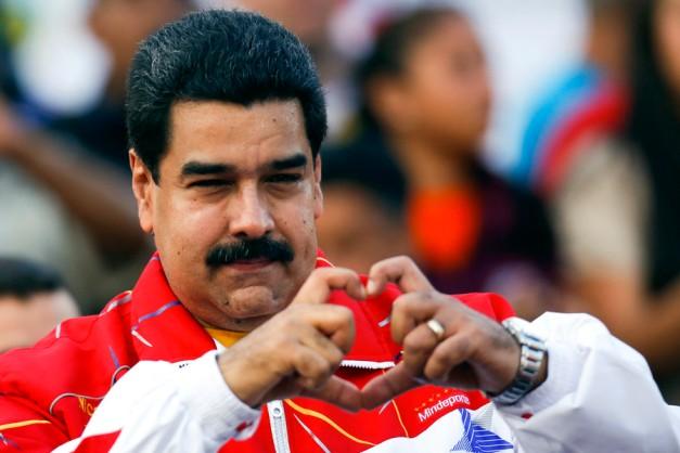 Venezuela's President Nicolas Maduro © Str