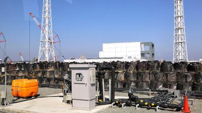 Tokyo Electric Power CO (TEPCO) Fukushima Dai-ichi nuclear power plant at Okuma town in Fukushima prefecture (AFP Photo)