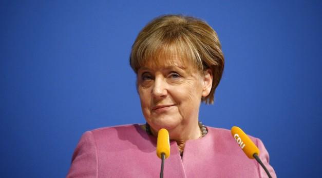 Angela Merkel. © Kai Pfaffenbach