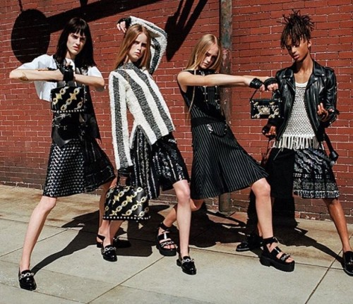 Meanwhile, Jaden Smith became the face of Louis Vuitton Womenswear. Women's....wear. While some will have the knee-jerk reaction of giving him a standing ovation for for the courage of wearing a skirt, this publicity stunt is mainly a continuation of the agenda of blurring the lines between genders that was aggressively promoted last year.
