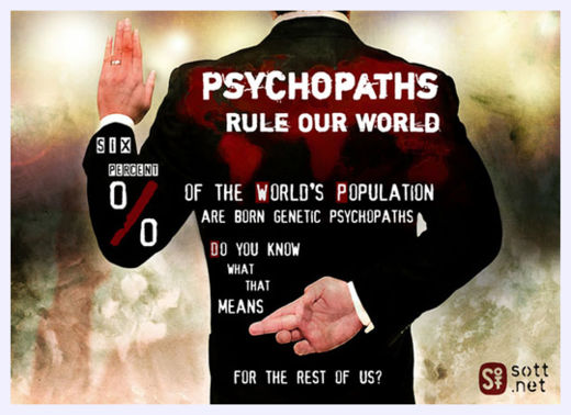 The ascendancy of sociopaths in U.S. governance 6percent1