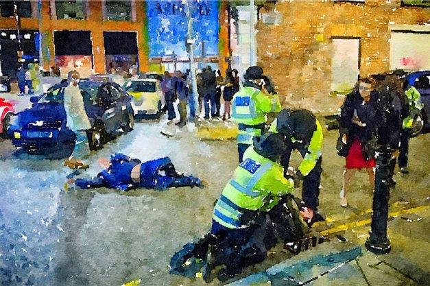 Drunken NYE Photo from Manchester is a Modern Day Renaissance Masterpiece (4)