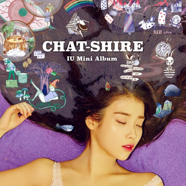 The album cover of K POP artist IU is replete with Alice in Wonderland-inspired MK symbolism including: A big eye, a child scared (traumatized) by an evil man, a butterfly (Monarch programming). a young boy wearing fishnet stockings (sexualization), mushrooms (intoxication), a rainbow (going over rainbow = dissociation), a one-eyed owl and much more.