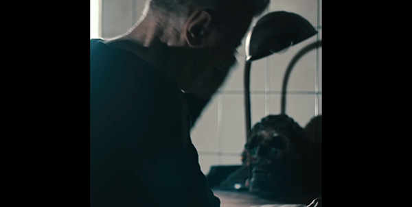 At one point we see the skull from Blackstar, implying that this Bowie possesses that secret occult knowledge.