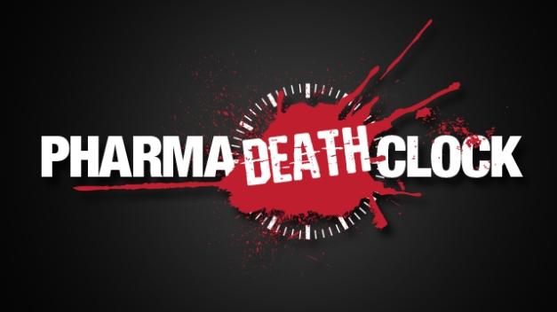 Pharma Death Clock website launched Pharmadeathclock1