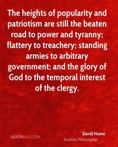 political authority david hume quote the heights of popularity and patriotism are still