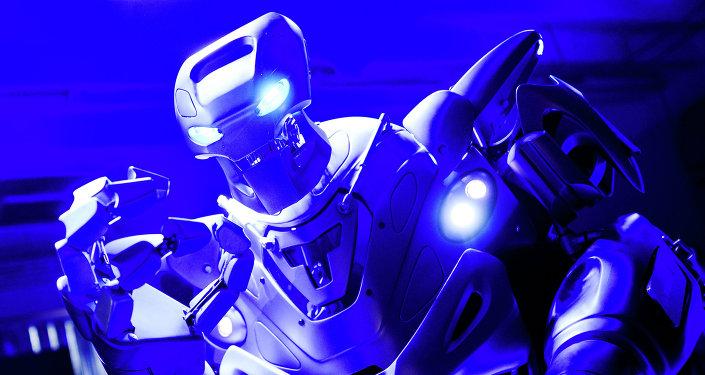 Robot Ball exhibition