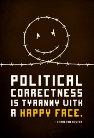 Political Correctness = Language and Thought Control 11-204x3001