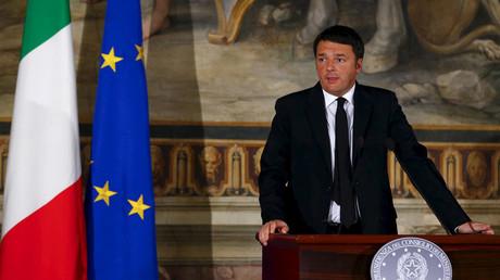 Italian Prime Minister Matteo Renzi © Tony Gentile