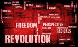 revolution of freedom is in your mind