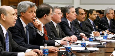 Bailout bunch The CEOs of the institutions that got TARP funds