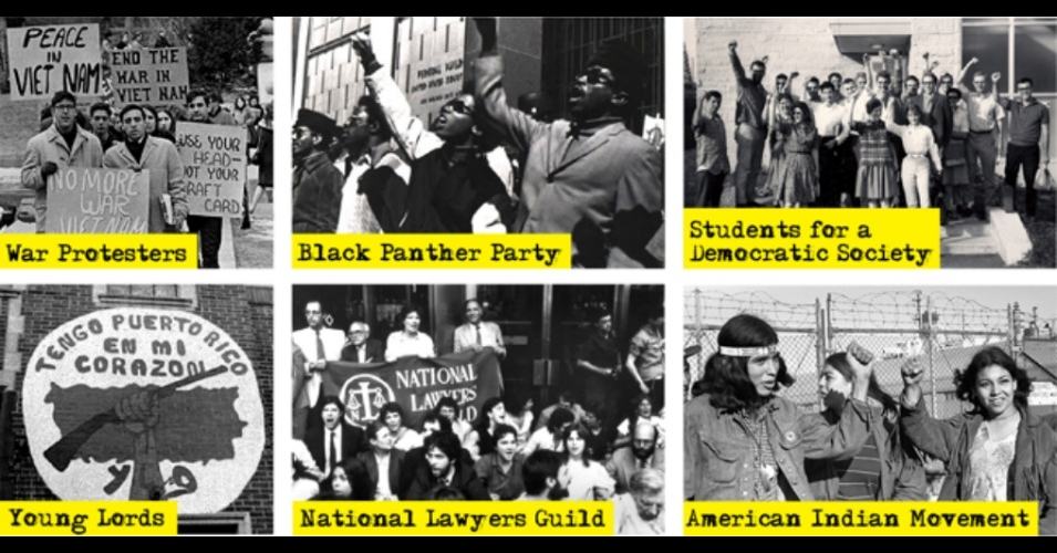Some of the groups targeted by the FBI's COINTELPRO. (Source: Zinn Ed Project)