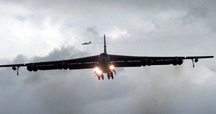 An American B-52 bomber