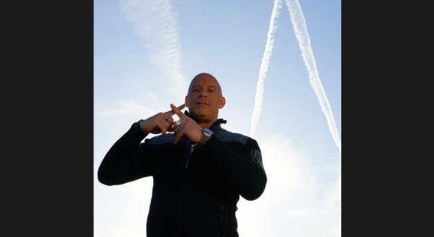 Did Vin Diesel Just Point Out Chemtrails On Social Media? Vindiesel_facebook