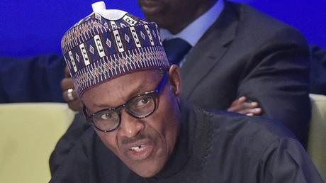 Nigeria's President Muhammadu Buhari. ©Mandel Ngan