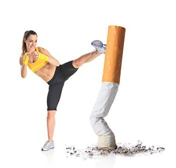 smoking exercise