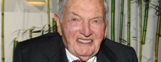 David Rockefeller Says Conspiracy About 'One World Order' Is True