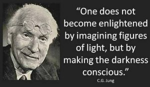 enlightenment making darkness light jung quote
