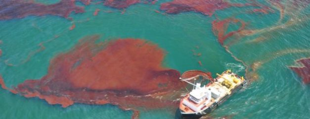 The Gulf Had Another Large Oil Leak, Did You Hear About It?