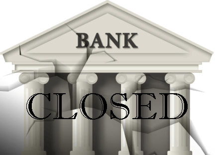 When Brainwashed Middle Class America Loses It All Pic-1-bank-closed