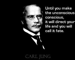unconscious direct your life jung quote