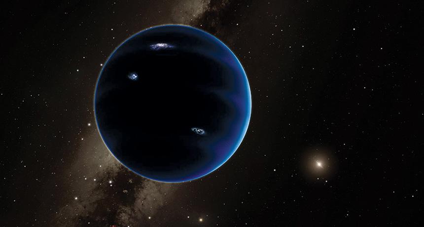 illustration of planet 9