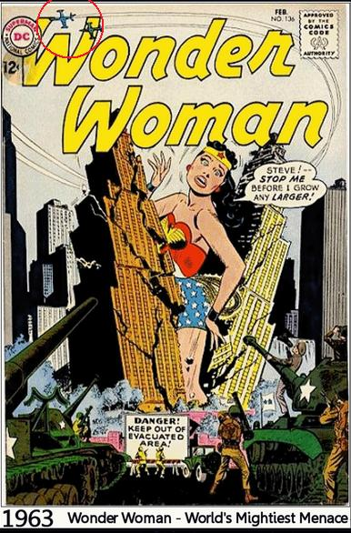 Wonder Woman cover 1963
