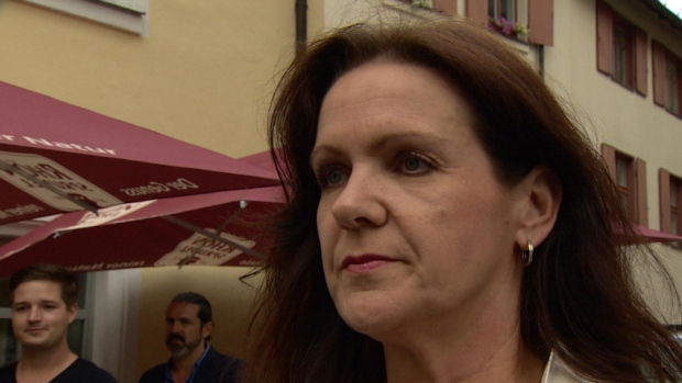 Claudia Frosch saw an explosion that injured 15 outside a wine bar in Ansach, Germany and says she is 'not going out anywhere anymore.'