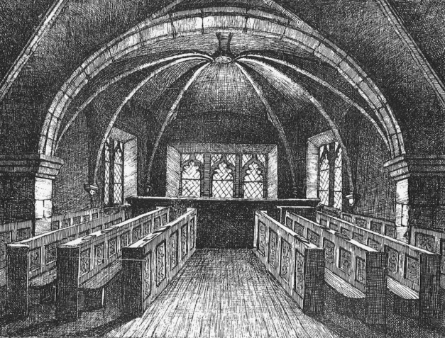 'Witch' Prison Revealed in 15th-Century Scottish Chapel