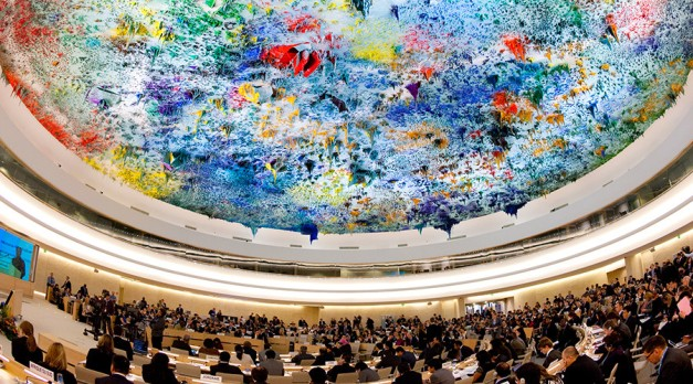 UN Human Rights Council in session © Valentin Flauraud