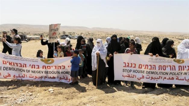 Bedouin Palestinians regularly endure home demolitions in Israel's Negev region [File: Ammar Awad/Reuters]