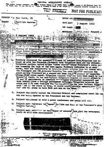 JFK murdered marilyn monroe CIA wiretap