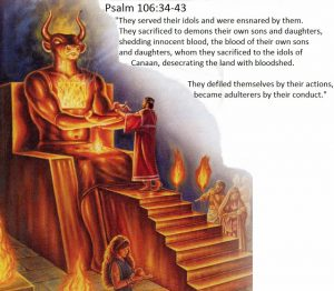 sacrifice to moloch