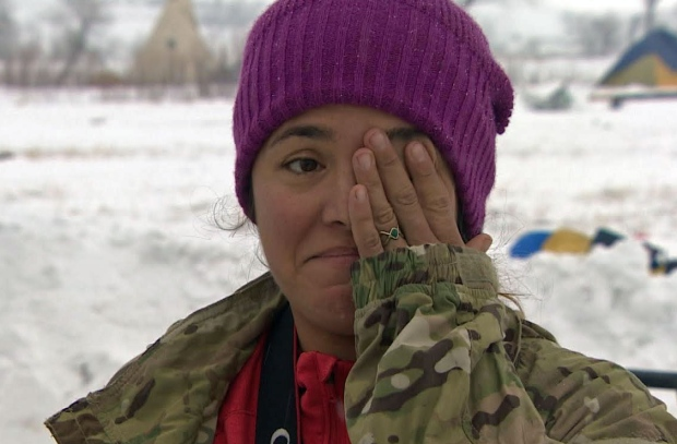 Brandee Paisano Standing Rock