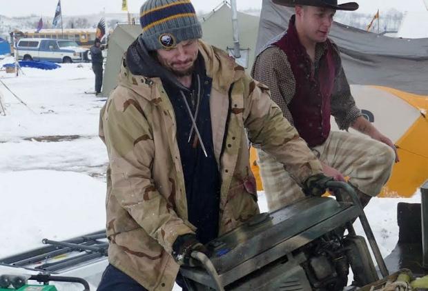 Matthew Crane Standing Rock