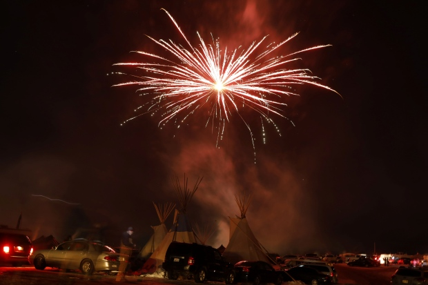 'I'm here until they're done': Standing Rock protesters savour a victory, but not packing up just yet North-dakota-pipeline3