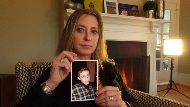 Stacey Dallyn lost her 18-year-old son to a fentanyl overdose in March, and says there were no treatment beds in B.C. when he needed one.