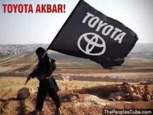 ISIS US Israeli creation toyota akbar