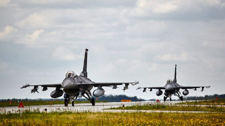 F-16 Fighting Falcons during exercies at the Air Force base in Lask, Poland © Agencja Gazeta