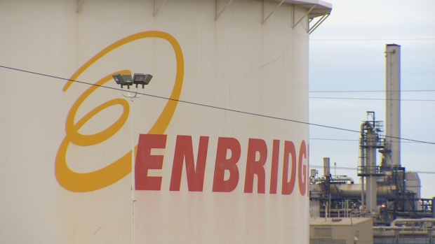 Enbridge has shut down five nearby pipelines as a precaution, the National Energy Board says.