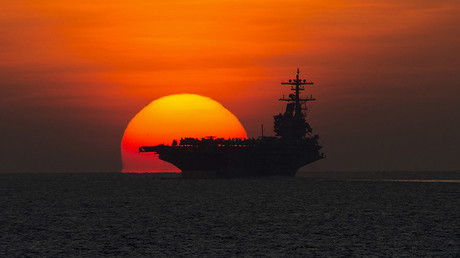 The aircraft carrier USS George H.W. Bush © US NAVY / Reuters