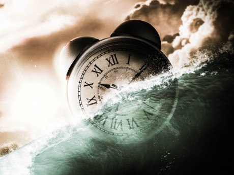 Alarm Clock Abstract - Public Domain