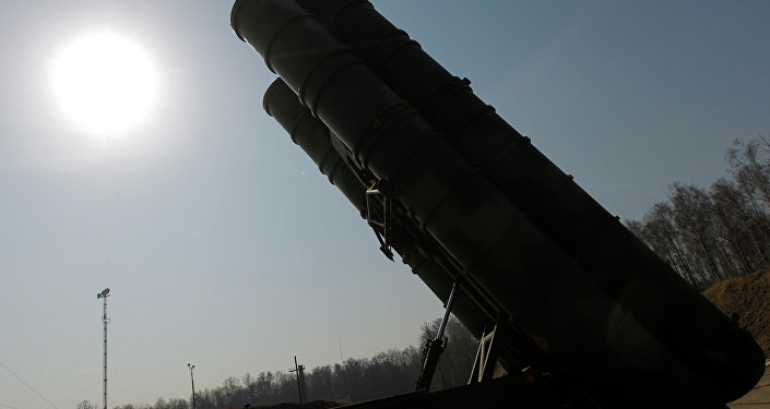 S-400 air defense system. File photo