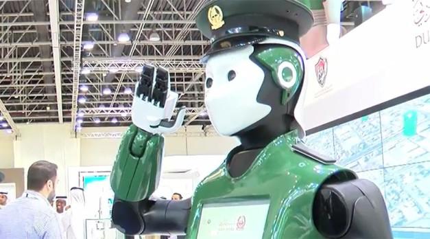 Dubai's first 'Robocop' begins patrolling streets