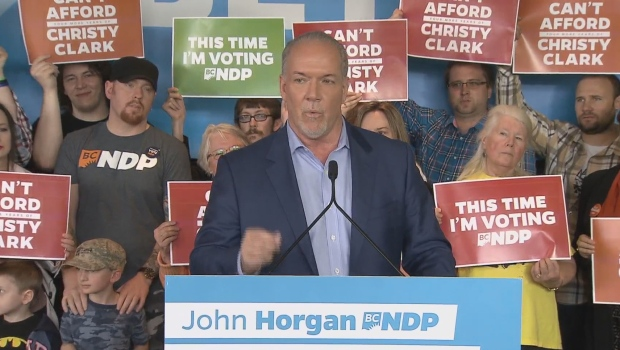 John Horgan Nanaimo