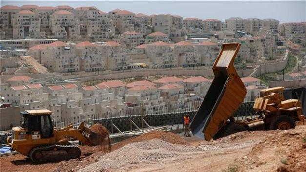 A general view of the Israeli settlement of Beitar Illit near the Palestinian town of Bethlehem, on May 17, 2016 (By AFP)